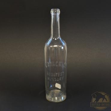 Színtelen J.Zwack italos üveg