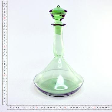 Zöld likõrös butella