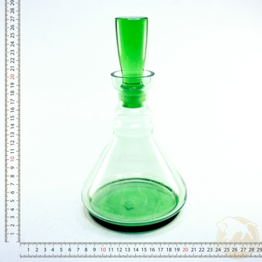 Zöld boros butella