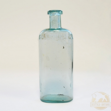 Zöldes színű gyógyszeres üveg