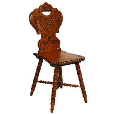 Faragott paraszt szék