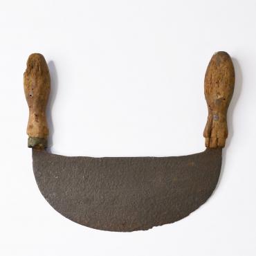 Régi káposztaaprító kés