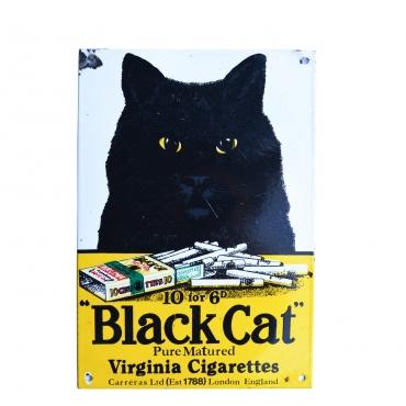 Zománcos reklámtábla- Black...