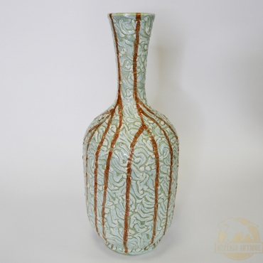 Írókás kerámia váza - Gorka...