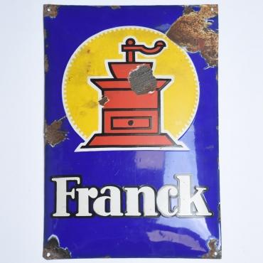 Zománctábla: Franck