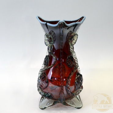 Bordó váza