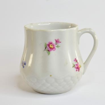 Füles porcelán csésze, kis...