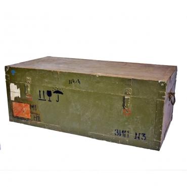 Rétegelt lemez katonai láda
