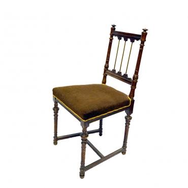 Sötétbarna ónémet szék