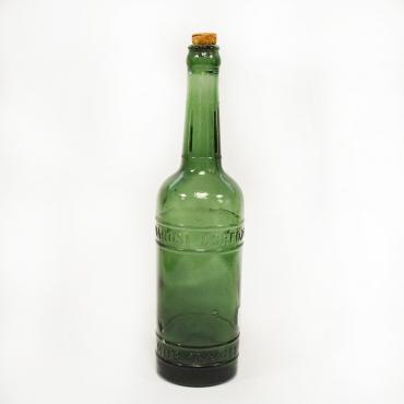 Zöld sörösüveg